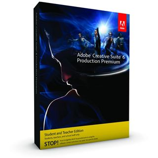 Adobe Creative Suite 6.0 Production Premium 64 Bit Deutsch Grafik EDU-Lizenz Mac (DVD)