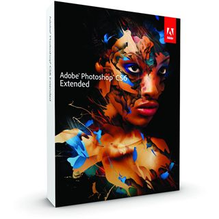 Adobe Photoshop Extended CS6 32/64 Bit Deutsch Grafik Vollversion Mac (DVD)