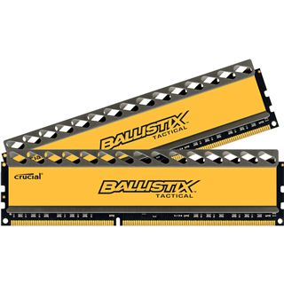16GB Crucial Ballistix Tactical DDR3-1600 DIMM CL8 Dual Kit