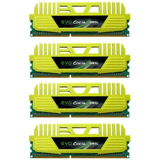 16GB GeIL EVO Corsa Quad Channel DDR3-1866 DIMM CL9 Quad Kit