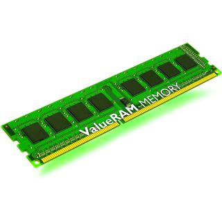 4GB Kingston ValueRAM Single Rank DDR3-1333 regECC DIMM CL9 Single