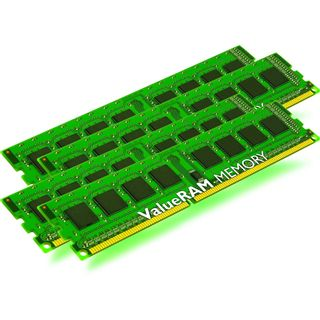 8GB Kingston ValueRAM DDR3-1600 ECC DIMM CL11 Quad Kit