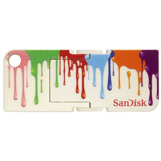 8 GB SanDisk Cruzer Pop Paint bunt USB 2.0