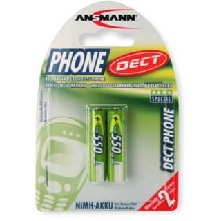 ANSMANN DECT AAA / Micro Nickel-Metall-Hydrid 550 mAh 2er Pack