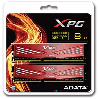 8GB ADATA XPG Xtreme Series DDR3-2133 DIMM CL10 Dual Kit