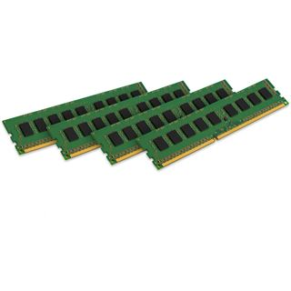 32GB Kingston ValueRAM HP DDR3-1600 ECC DIMM CL11 Quad Kit