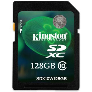 128 GB Kingston Standard SDXC Class 10 Bulk