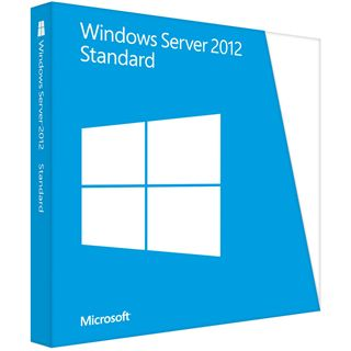 Microsoft Windows Server 2012 64 Bit Deutsch OEM/DSP/SB 2 CPUs