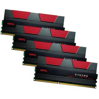32GB GeIL EVO Two DDR3-1333 DIMM CL9 Quad Kit