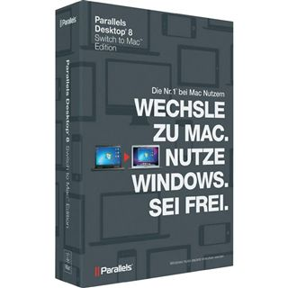 Parallels Desktop 8.0 Switch to Mac Edition Deutsch Office Vollversion Mac (DVD)
