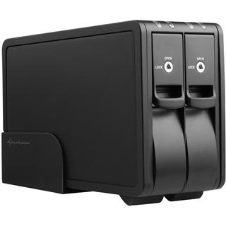 "Sharkoon Vertical Docking Station DUO USB 3.0 für 3,5"" SAT"
