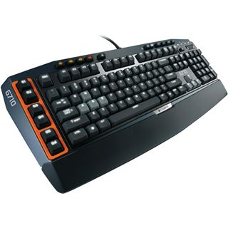 Logitech G710+ Gaming Keyboard CHERRY MX Brown USB Deutsch schwarz (kabelgebunden)