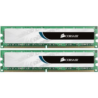 16GB Corsair ValueSelect DDR3-1600 DIMM CL11 Dual Kit