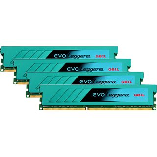 32GB GeIL EVO Leggera Quad Channel DDR3-1866 DIMM CL9 Quad Kit