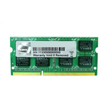 4GB G.Skill Value DDR3-1600 SO-DIMM CL11 Single