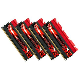 32GB G.Skill TridentX DDR3-1866 DIMM CL8 Quad Kit
