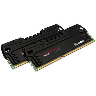 8GB HyperX Beast DDR3-1600 DIMM CL9 Dual Kit