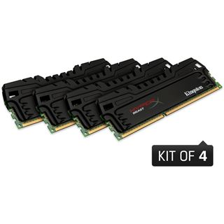 32GB Kingston HyperX Beast DDR3-1866 DIMM CL10 Quad Kit