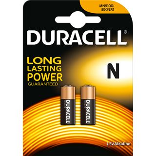 Duracell Security mn9100 Alkaline 1.5 V 2er Pack