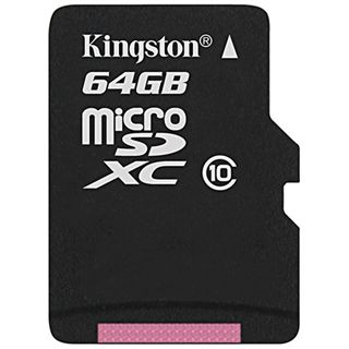 64 GB Kingston microSDXC Class 10 Bulk