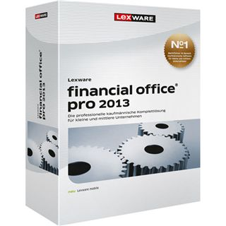 Lexware Financial Office Pro 2013 32/64 Bit Deutsch Office Vollversion PC (DVD)