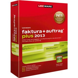 Lexware Faktura + Auftrag Plus 2013 32/64 Bit Deutsch Office Update PC (CD)