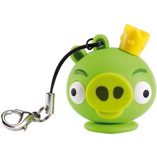 8 GB EMTEC Angry Birds King Pin Figur USB 2.0