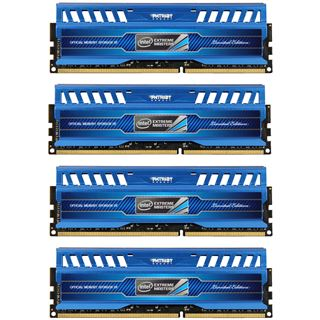 32GB Patriot Intel Extreme Masters Series DDR3-1600 DIMM CL9 Quad Kit