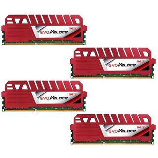 32GB GeIL EVO Veloce DDR3-1600 DIMM CL9 Quad Kit