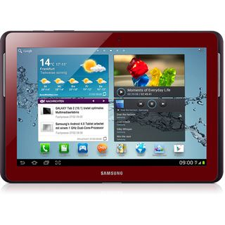 "10.1"" (25,65cm) Samsung Galaxy Tab 2 10.1 3G/WiFi/Bluetooth V3.0 16GB rot"
