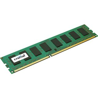 2GB Crucial Value DDR3-1066 DIMM CL7 Single