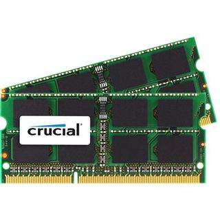 8GB Crucial Value DDR3-1066 SO-DIMM CL7 Dual Kit