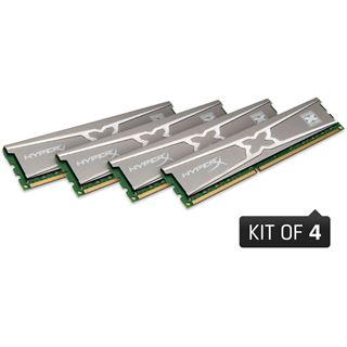 16GB Kingston HyperX 10th Anniversary Edition DDR3-2133 DIMM CL11 Quad Kit
