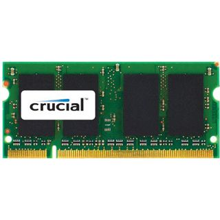 2GB Crucial DDR3 1066 MT/S CL7