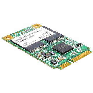 2GB Delock mSATA Add-In SATA 3Gb/s/MiniPCIe SLC (54404)