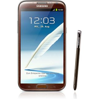 Samsung Galaxy Note 2 N7100 16 GB braun