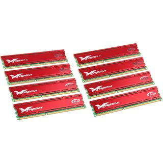 64GB TeamGroup Vulcan Series rot DDR3-1600 DIMM CL9 Octa Kit