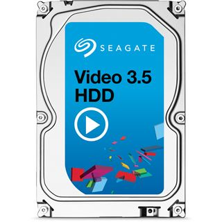 "4000GB Seagate Video 3.5 HDD ST4000VM000 64MB 3.5"" (8.9cm) SATA 6Gb/s"