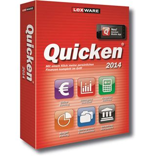 Lexware Quicken 2014 32/64 Bit Deutsch Office Vollversion PC (CD)