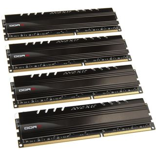 16GB Avexir Core Series orange LED DDR3-1600 DIMM CL9 Quad Kit