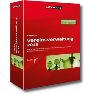 Lexware Vereinsverwaltung 2013 32/64 Bit Deutsch Office Vollversion PC (DVD)