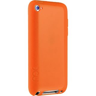 ICU Design Shield T4 Opaque Orange: TPU Case for Apple iPod Touch 4G
