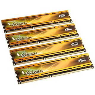 16GB TeamGroup Vulcan Series gold DDR3L-1600 DIMM CL9 Quad Kit