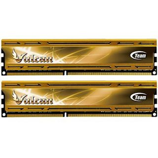 8GB TeamGroup Vulcan Series gold XMP DDR3-1600 DIMM CL9 Dual Kit