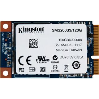 120GB Kingston mS200 mSATA 6Gb/s MLC asynchron (SMS200S3/120G)