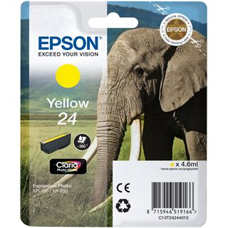 Epson 24 SERIES ELEPHANT YELLOW INK