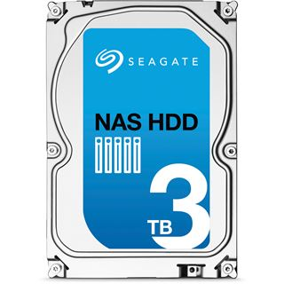 "3000GB Seagate NAS HDD ST3000VN000 64MB 3.5"" (8.9cm) SATA 6Gb/s"
