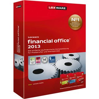 Lexware Financial Office 2013 Juli (Vers. 17.5) 32/64 Bit Deutsch Office Vollversion PC (CD)