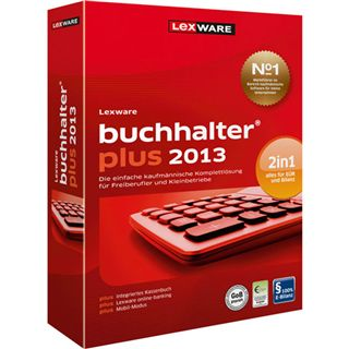 Lexware Buchhalter Plus 2013 (Version 18.5) 32/64 Bit Deutsch Office Vollversion PC (CD)