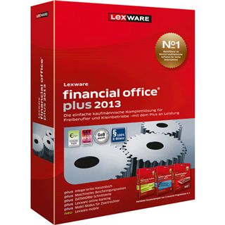 Lexware Financial Office Plus 2013 Juli 32/64 Bit Deutsch Office Update PC (CD)